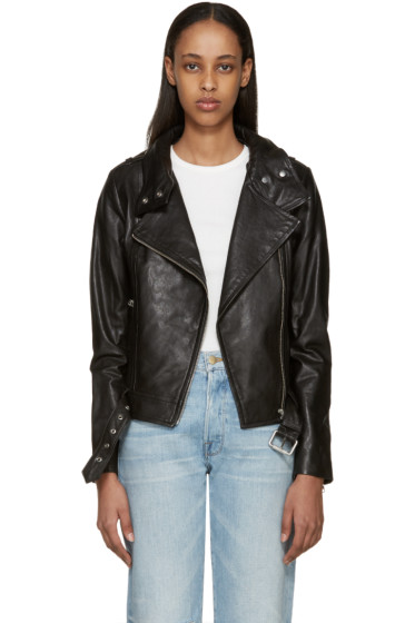 Mackage - Black Leather Hania Jacket