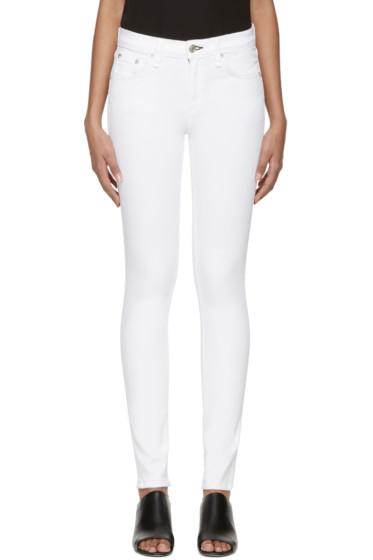 Rag & Bone - White Skinny Jeans