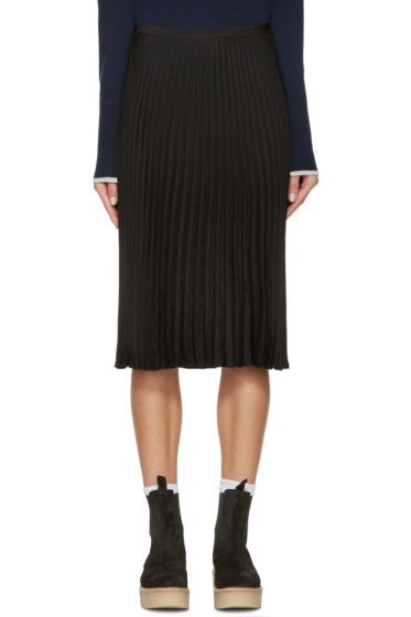 Rag & Bone - Black Pleated Maxine Skirt