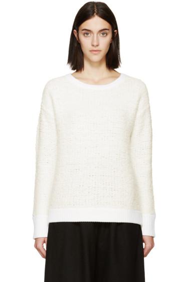 Rag & Bone - Ivory Shearling Corrine Sweater