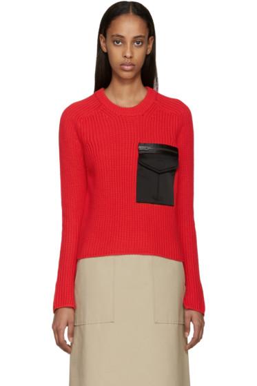Rag & Bone - Red Pocket Greer Pullover