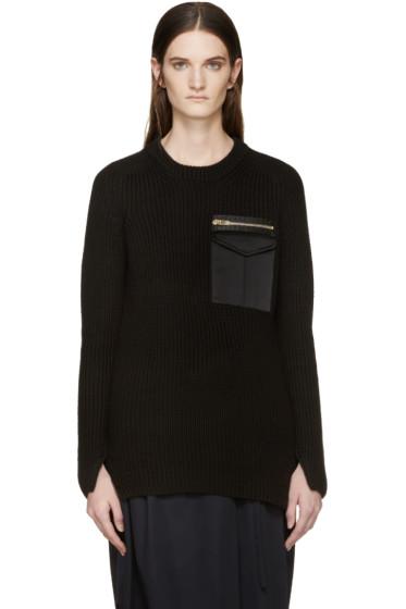 Rag & Bone - Black Greer Army Sweater
