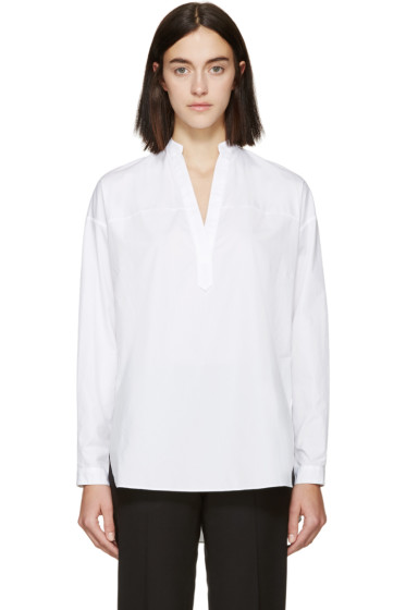 Rag & Bone - White Poplin Barcelona Tunic
