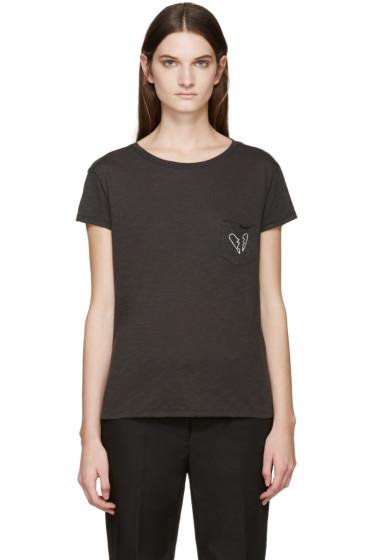 Rag & Bone - Grey X-Boyfriend T-Shirt