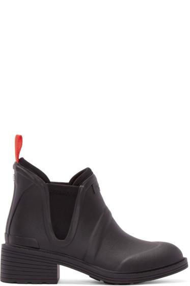 Rag & Bone - Black Rubber Dartford Boots