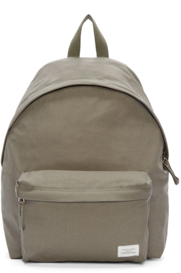 Rag & Bone - Green Canvas Standard Backpack
