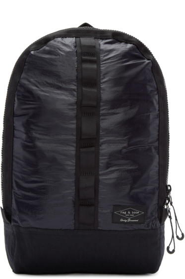 Rag & Bone - Navy & Black Derby Backpack