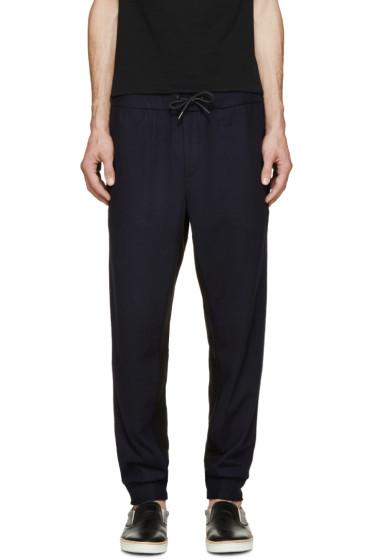 Rag & Bone - Navy Wool Alpha Lounge Pants
