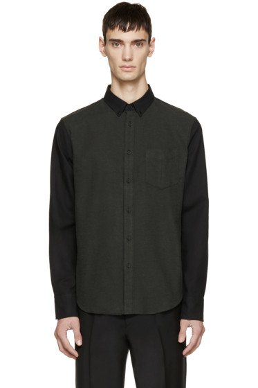 Rag & Bone - Green Flannel Yokohama Shirt