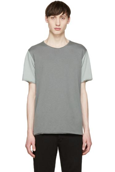 Rag & Bone - Grey Colorblock Merrick T-Shirt