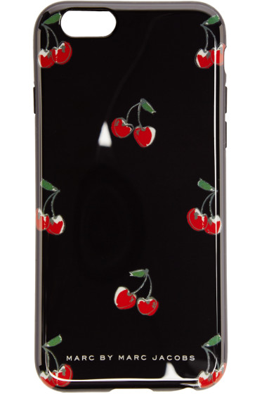 Marc by Marc Jacobs - Black Cherry Print iPhone 6 Case