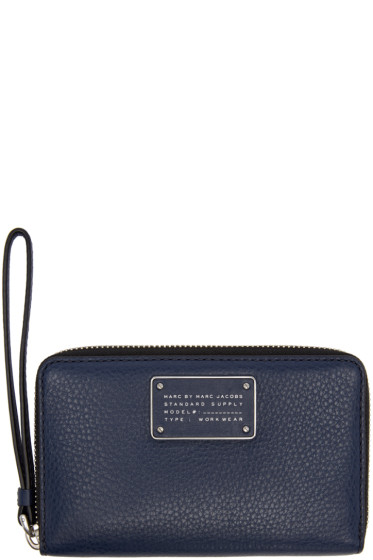 Marc by Marc Jacobs - Navy New Too Hot To Handle Wallet