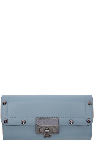 Marc by Marc Jacobs - Blue Espionage Continental Wallet