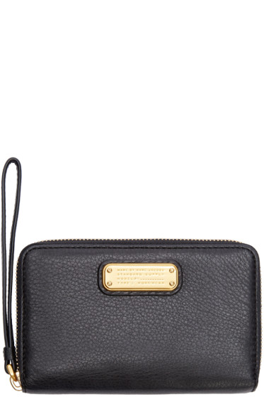 Marc by Marc Jacobs - Black New Q Wingman Wristlet Wallet