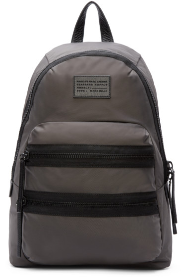 Marc by Marc Jacobs - Grey Domo Arigato Packrat Backpack