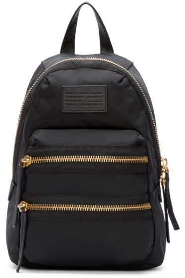 Marc by Marc Jacobs - Black Domo Arigato Mini Packrat Backpack