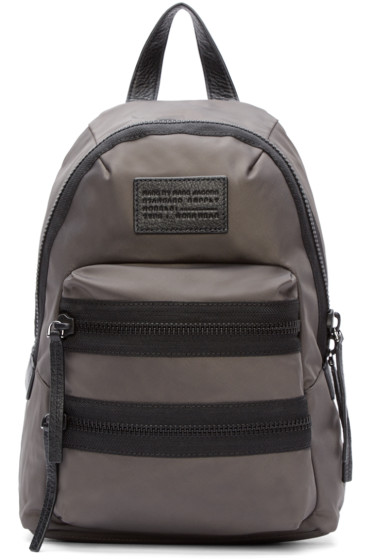 Marc by Marc Jacobs - Grey Domo Arigato Mini Packrat Backpack