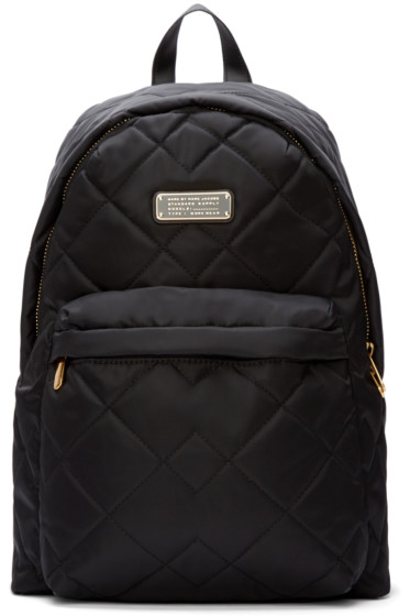 Marc by Marc Jacobs - Black Nylon Quilted Crosby Backpack