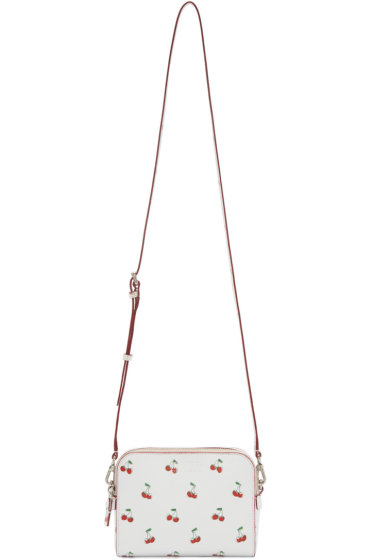 Marc by Marc Jacobs - White Printed The Double Shoulder Bag