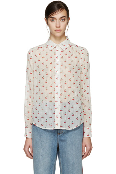 Marc by Marc Jacobs - Ivory Cherry Shirt