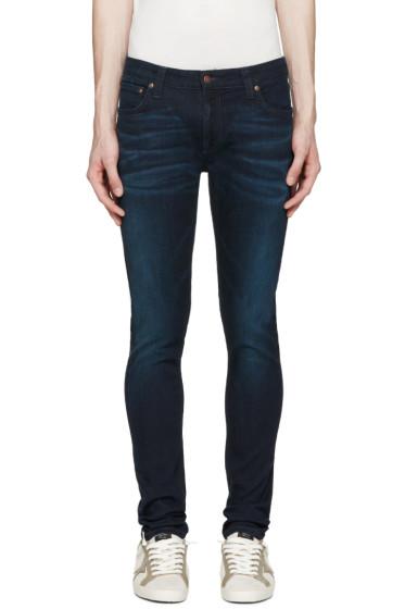 Nudie Jeans - Navy Skinny Lin Jeans