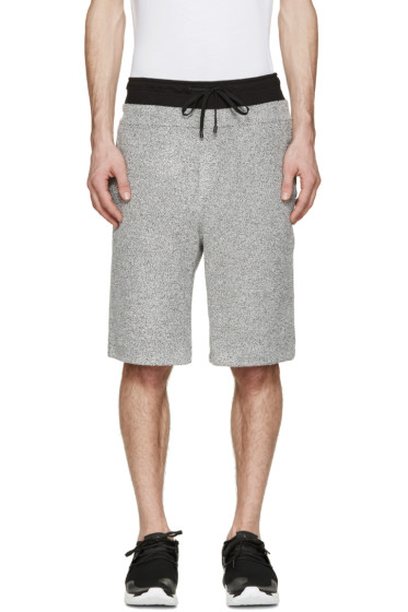 Public School - Grey Mélange Lounge Shorts