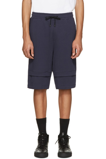 Public School - Navy Zagut Lounge Shorts
