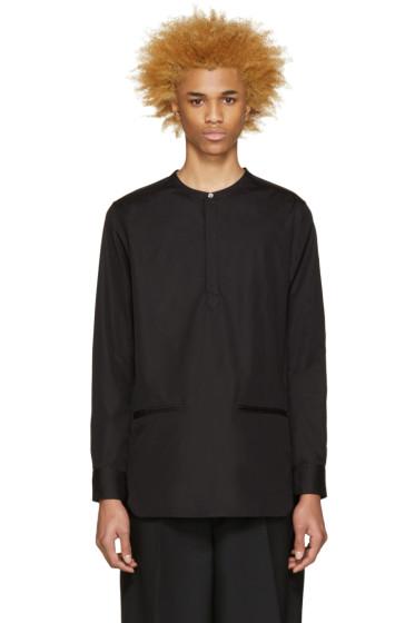 Public School - Black Hanaki Shirt