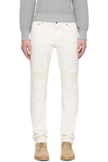 Belstaff - Cream Slim Eastham Jeans