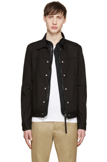 Diesel Black Gold - Black Layered Jacket
