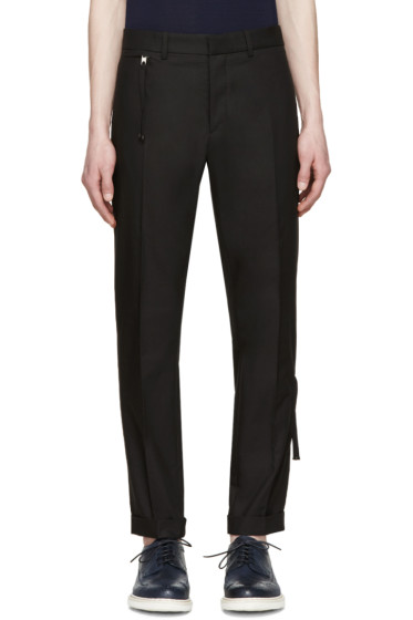 Diesel Black Gold - Black Side Zip Trousers