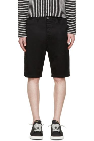 Diesel Black Gold - Black Twill Shorts