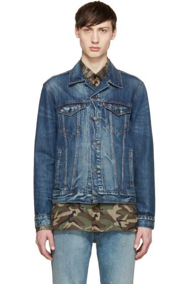 Levi's - Blue Denim The Trucker Jacket