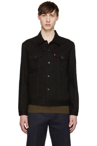 Levi's - Black Denim The Trucker Jacket