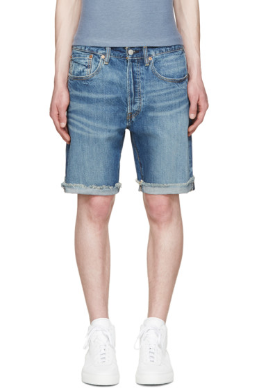 Levi's - Blue 501 CT Shorts