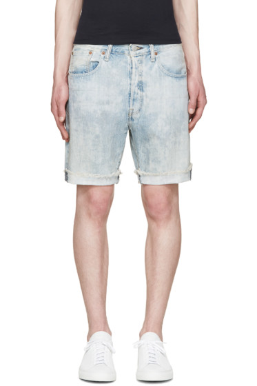 Levi's - Blue Faded 501 CT Shorts