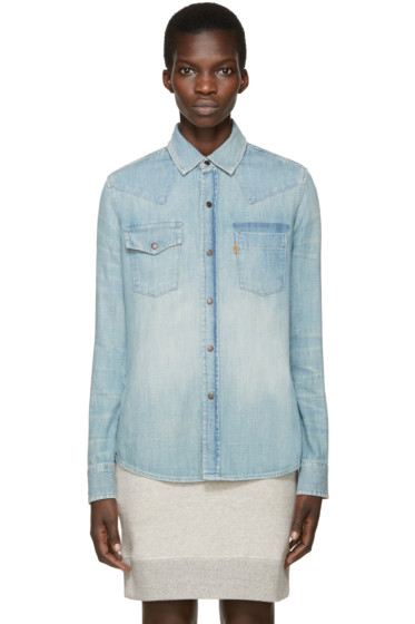 Levi's Vintage Clothing - Blue Denim 70s Shirt