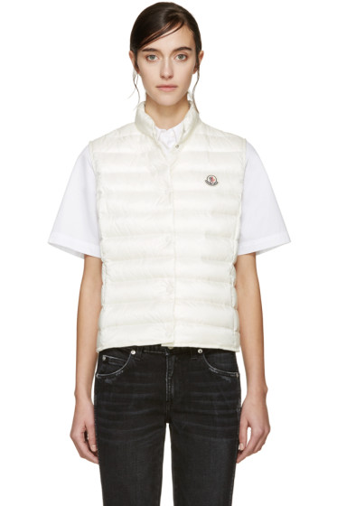 Moncler - Cream Down Liane Vest