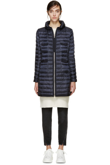 Moncler - Navy Down Bogue Jacket