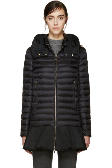 Moncler - Black Down Daurade Jacket