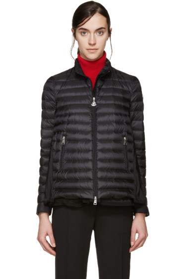 Moncler - Black Down Grenouille Jacket