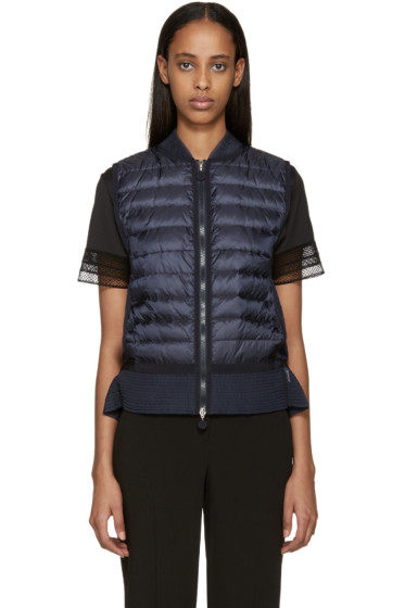 Moncler - Navy Down Tournesol Vest
