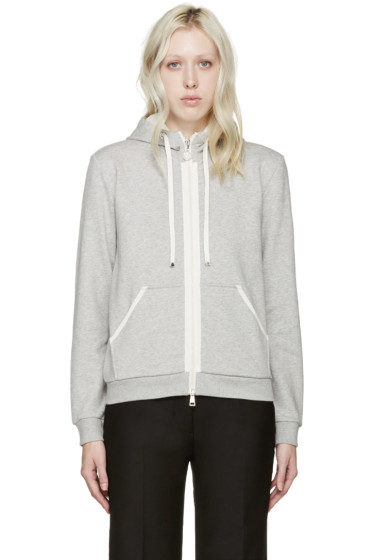 Moncler - Grey French Terry Hoodie