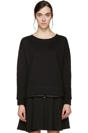 Moncler - Black Drawstring Pullover