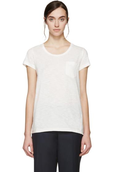 Moncler - Ivory Trapeze T-Shirt