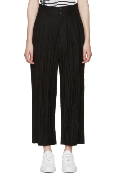 McQ Alexander Mcqueen - Black Wide-Leg Trousers