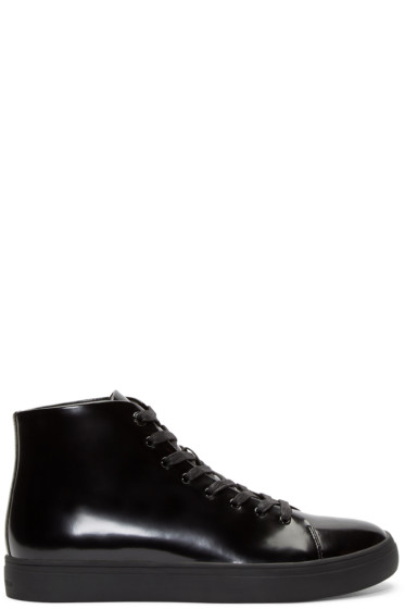 Tiger of Sweden - Black High-Top Yngve Sneakers
