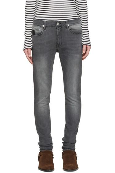 April77 - Grey Joey Moon Wolf Jeans
