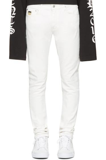 April77 - White Joey Milk Jeans