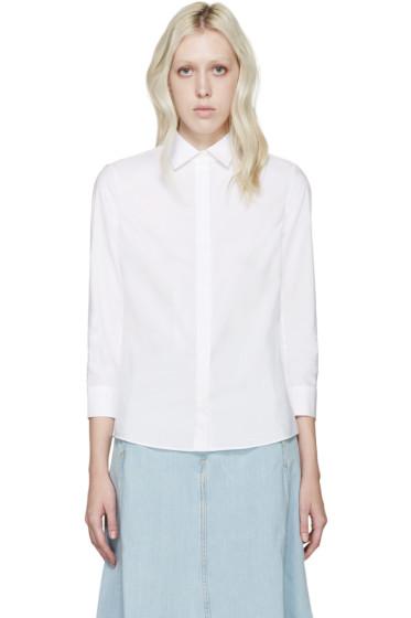 Acne Studios - White Poplin Gardell Shirt